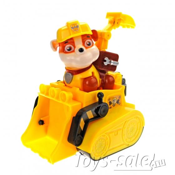 Набор игрушек Щенячий патруль - 8 героев с машинками Премиум