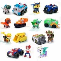 Набор игрушек Щенячий патруль - 8 героев с транспортом и рюкзаками трансформерами