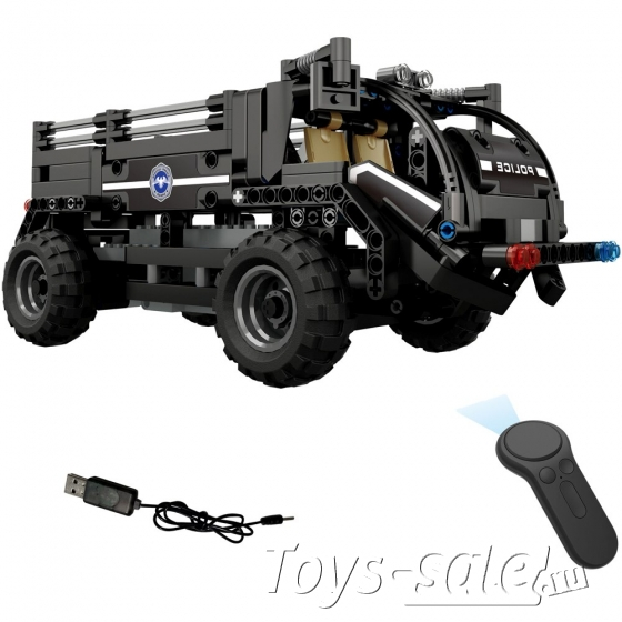 Конструктор Техникс Полицейский грузовик Mould King 13008 (462 деталей)