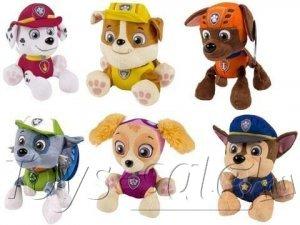 Набор Мягких игрушек Щенячий патруль 6 героев 20 см