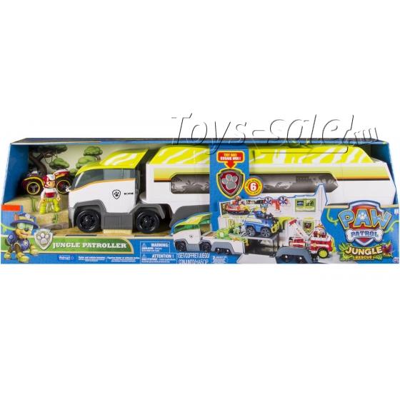 Автовоз спасателей Щенячий Патруль серия Джунгли