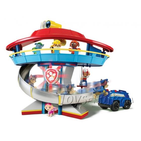 Набор игрушек Щенячий Патруль (Paw Patrol) - Большой офис спасателей