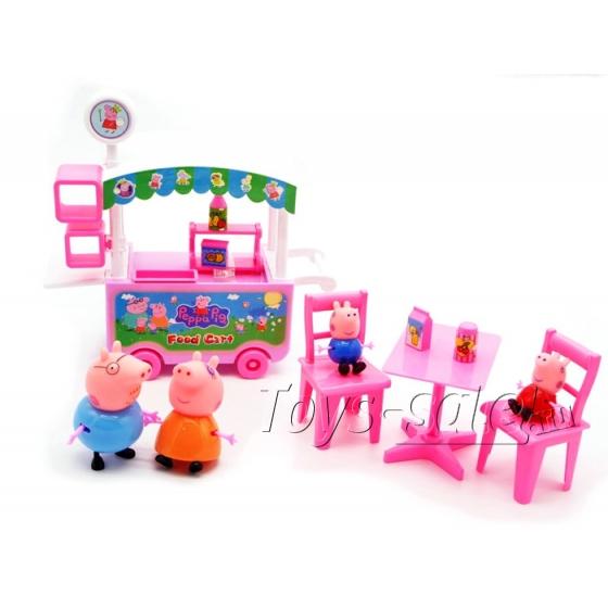 """Игровой набор """"Кафе на колесах Свинки Пеппа"""""""