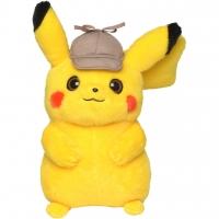 Мягкая игрушка Покемон в шапке - Детектив Пикачу 23 см