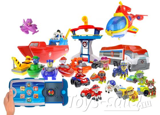 Набор игрушек Щенячий Патруль - Водные Спасатели