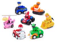 Набор 9 мини героев с машинками