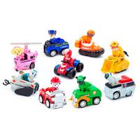 Набор игрушек Щенячий Патруль 9 героев мини на машинках