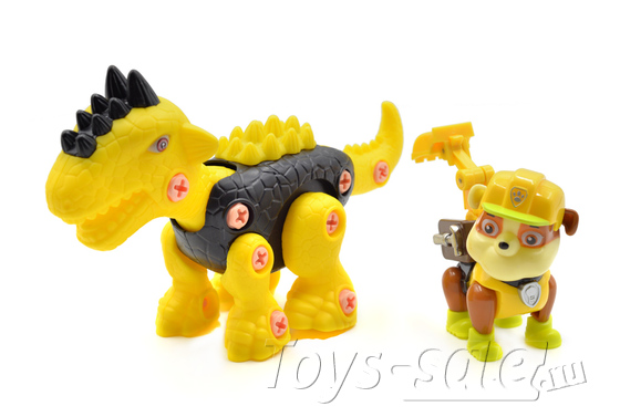 Щенячий Патруль и динозавры - Дино миссия 7 героев
