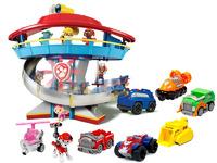 Комплект Щенячий Патруль (Paw Patrol) - Большой офис спасателей + Команда из 7 героев с машинками
