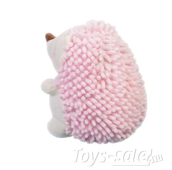 Мягкая игрушка Ежик 20 см (розовый)