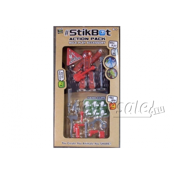 Стикбот (Stikbot) стиль жизни гитарист