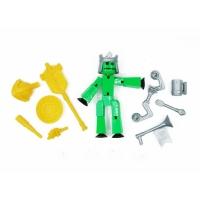Стикбот Рыцарь с аксессуарами Stikbot