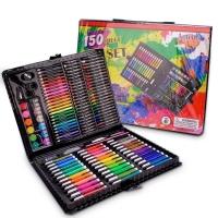 Набор для рисования 150 предметов черный