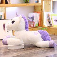 Мягкая игрушка Единорог белый-60 см