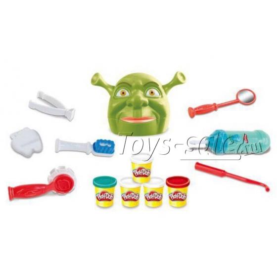 Набор пластилина «Play-Doh» Стоматолог - Зубастик Шрек