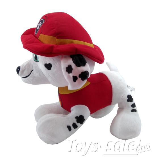 Мягкая игрушка Маршал Щенячий патруль 30 см.
