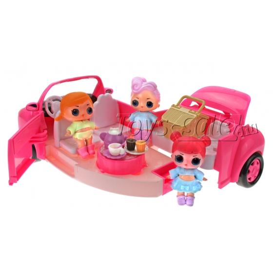 Машина - трансформер «Пикник подружек LOL»