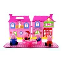 Домик Свинки Пеппа Розовый РР-6045А
