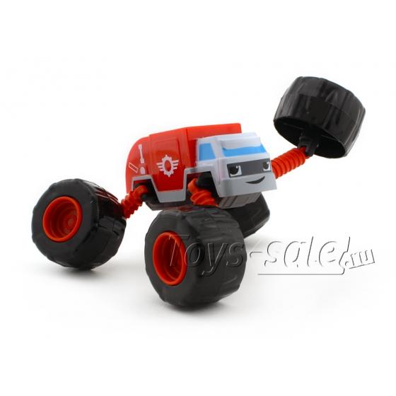 Машинка-трансформер Красный Грузовик (Вспыш и чудо-машинки)