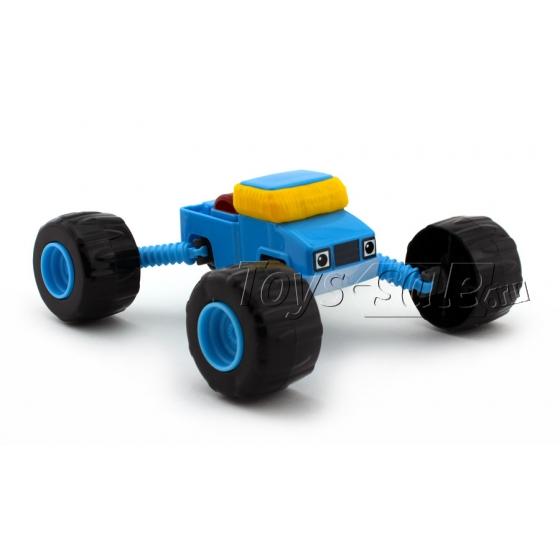 Машинка-трансформер Синий Пикап (Вспыш и чудо-машинки)