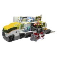 Автовоз и команда щенков спасателей