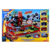 Вспыш и Чудо-машинки Игровой набор Большая городская парковка 828-78