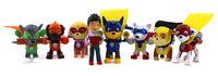 Набор игрушек Щенячий Патруль (Paw Patrol) 7 щенков - супергероев и Райдер