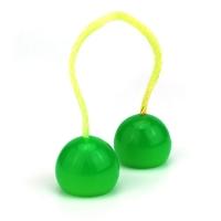 Антистресс-игрушка Thumb Chucks YoYo - Зеленый с подсветкой