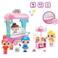 Тележка с мороженым для ЛОЛ + 2 куколки (Ice Cream Car LOL).