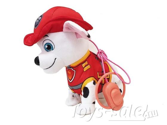 Мягкая игрушка Маршал со звуком и пультом управления (Щенячий патруль)