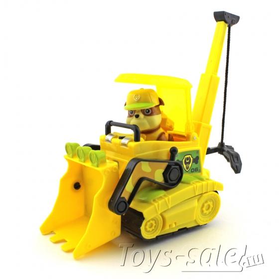 Набор игрушек Щенячий патруль - 7 героев с большими машинками