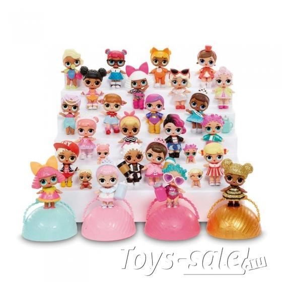 Кукла-сюрприз LOL в шарике - Набор из 6 шариков (Питомцы + серия 1 + серия 2)
