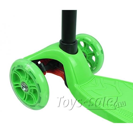 Самокат (Кикборд) MaxCity MC Tiny зеленый