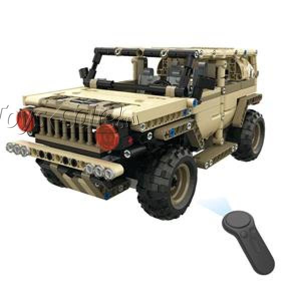 Конструктор Техникс Военный Hummer Mould King 13009 (535 деталей) с ПДУ