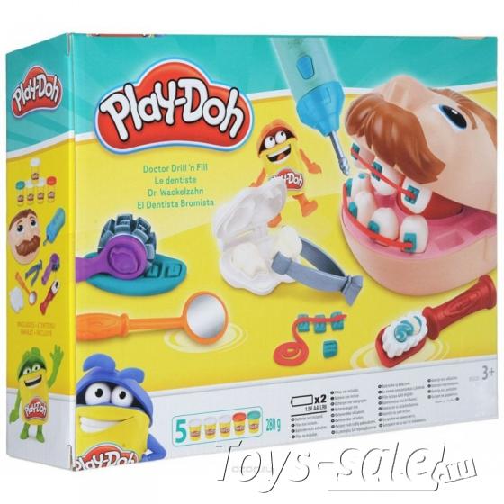 Набор пластилина «Play-Doh» Стоматолог - Мистер Зубастик