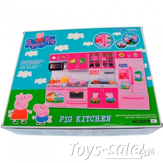 Новая кухня Свинки Пеппа