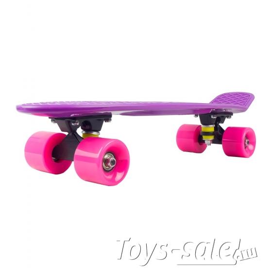 Скейтборд MC Plastic Board small violet