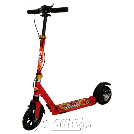 Городской самокат HELLO WOOD HW-Racer Красный