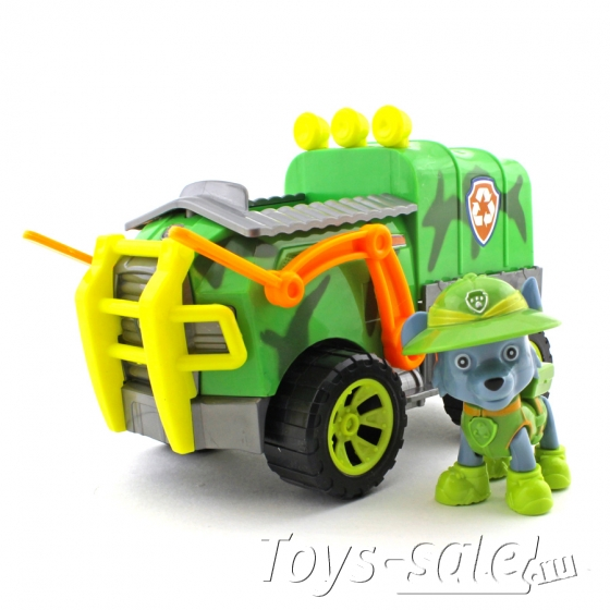 Набор игрушек Щенячий патруль - 8 героев с большими машинками + Офис + Автовоз