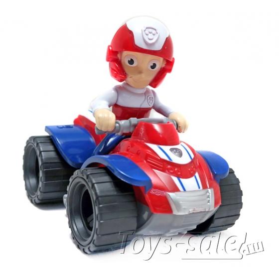 Набор игрушек Щенячий патруль - 10 героев с транспортом и рюкзаками трансформерами