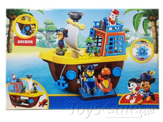 Пиратский корабль Щенячий патруль