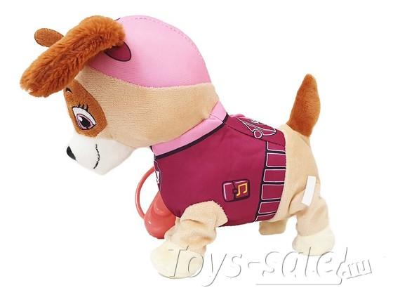 Мягкая игрушка Скай со звуком и пультом управления (Щенячий патруль)