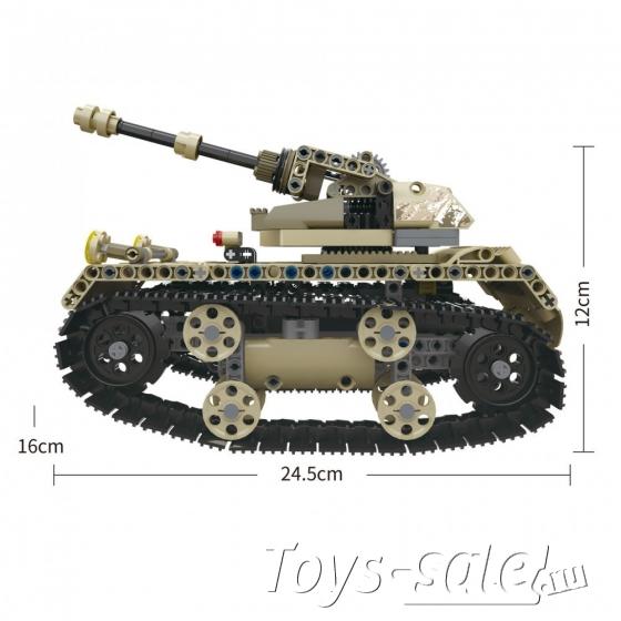 Конструктор Техникс Танк Mould King 13010 (549 деталей) с ПДУ