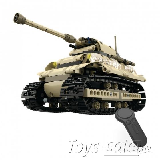 Конструктор Техникс Танк Mould King 13011 (495 деталей) с ПДУ