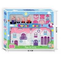 Большой дом Свинки Пеппы с мебелью и фигурками