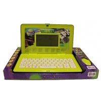 Детский обучающий англо-русский ноутбук с мышкой Черепашки Ниндзя (GT8397 1121970)