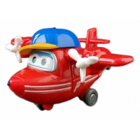 Набор игрушек трансформеров Супер Крылья (Super Wings) - Новые герои: Астра, Чейз, Тодд, Флип