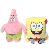 Набор мягких игрушек Спанч Боб и Патрик 30 см