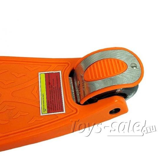 Самокат (Кикборд) MaxCity MC Tiny оранжевый