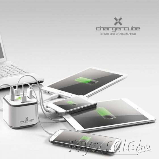 Зарядное устройство ChargerCube с функцией USB хаба